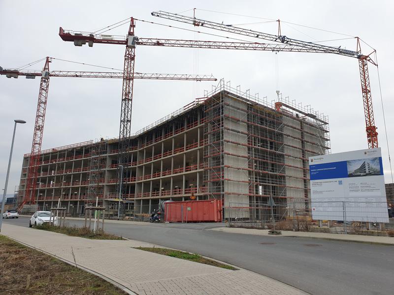 Neubau Labor- / Bürogebäude Landesuntersuchungsamt