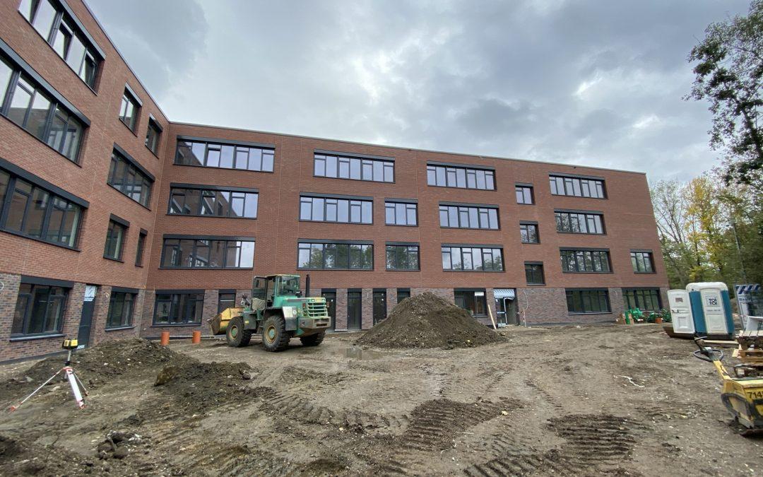 Rückbau, Neubau und Betrieb des Heisenberg-Gymnasiums