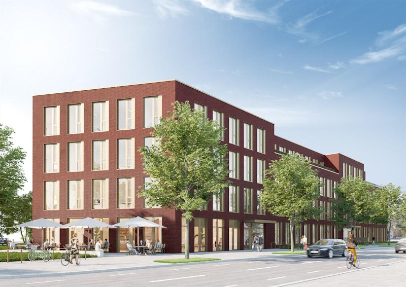 V2 Offices – Neubau Bürogebäude Pützchens Chaussee