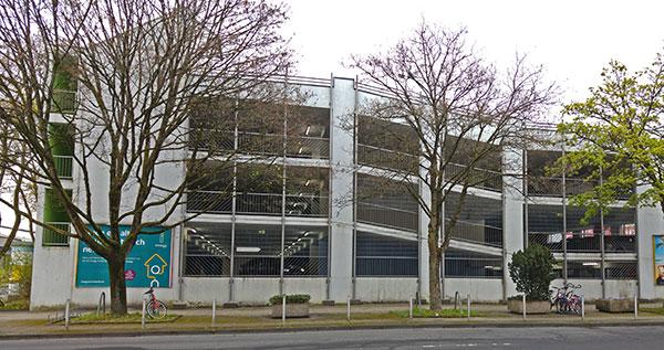 Sanierungsplanung Parkhaus Siegerlandcenter